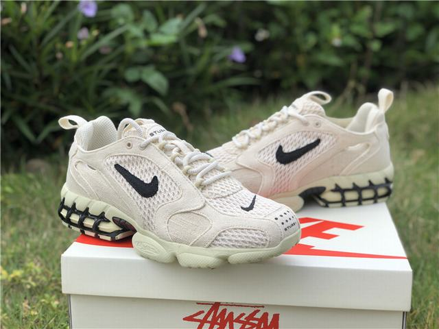 Authentic Stussy x Nike Air Zoom Spiridon