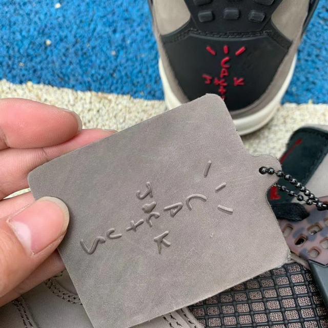 Authentic Travis Scott x Air Jordan 4 Grey