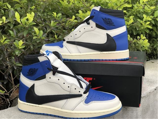 Authentic Travis Scott x Fragment x Air Jordan