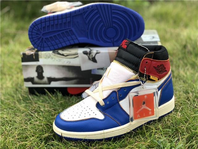 Authentic Union x Air Jordan 1 Retro High NRG