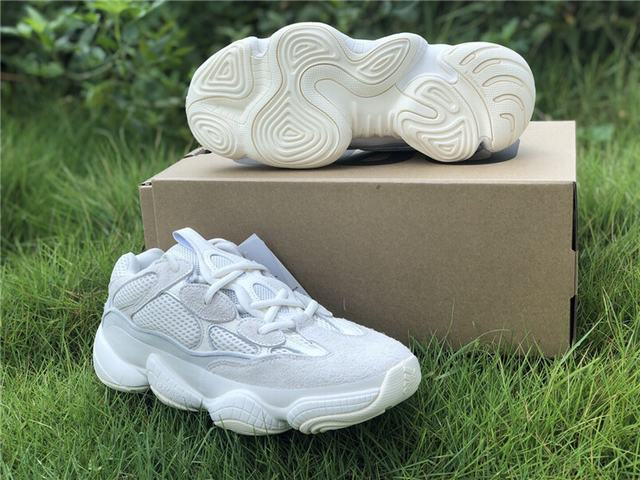 "Authentic Yeezy Boost 500 ""Bone White"""