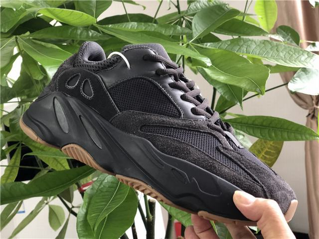 "Authentic Yeezy Boost 700 ""Utility Black"""